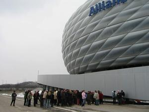 vhs-Besichtigungen in der Allianz Arena