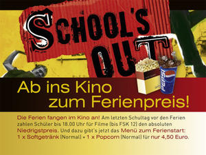 School`s out im CineStar