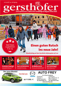 Wie gefllt Ihnen die Januarausgabe von 'myheimat Gersthofen?