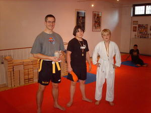 wieder Projekttage mit Self Defense Germany