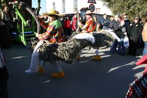 'Zell ohne See' Fasching Gaudiwurm in Griesbeckerzell