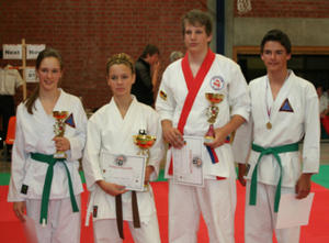 Self Defense Germany holen 2 x Gold