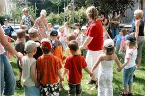 Kindergartenfest in Ellgau