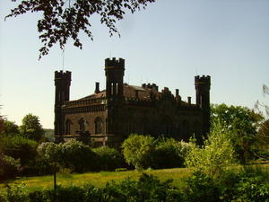 Das Friedelhuser Schloss bei Lollar-Odenhausen, Mai 2008