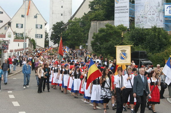 Der Festzug am Stadtberg