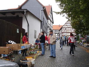 2. Turmstraenflohmarkt in Ebsdorf