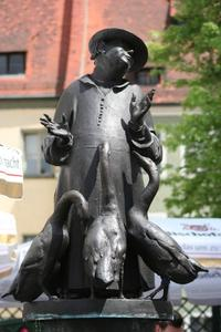 Gnseprediger-Brunnen in Regensburg