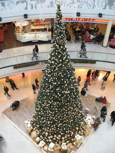 Weihnachtsbaum in der Ernst-August-Galerie