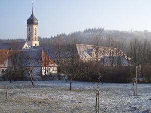 Spaziergang nach Kloster Oberschnenfeld