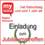 Einladung zum Jubilumstreffen Hannover und Region