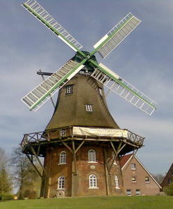 Windmühle in Midlum