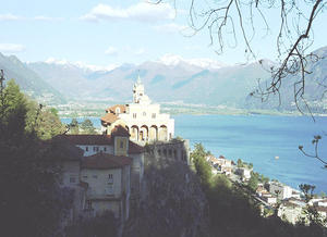Wallfahrtskirche Madonna del Sasso oberhalb von Locarno