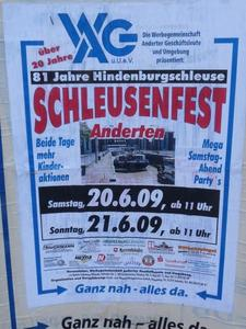 Schleusenfest Anderten - Hannover- Hindenburgschleuse