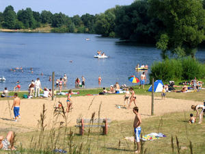 Bade - Paradies  am  Eixer See !