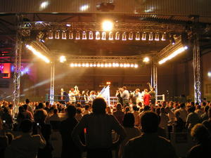 Boxen im Lenny Soccio Ice u. Event Center Langenhagen