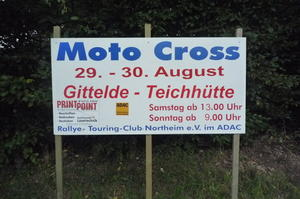 Moto Cross in Teichhütte am 29. und 30. August