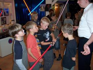 Aktionstag: VVV-JuniorClub-Kinder lernen das Star Wars-Universum kennen