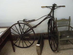 Veloziped (Fahrrad) von 1889