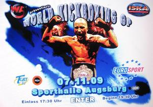 Kickbox-Gala in Augburg (WM und EM Titelkampf)