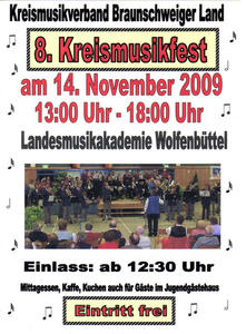 8. Kreismusikfest des Kreismusikverbandes Braunschweiger Land - Letzte Infos