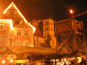 Mittelalterlicher Weihnachtsmarkt in Esslingen 2010