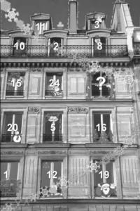 Lebendiger Adventskalender in der List