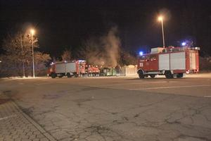 Containerbrand in Ilsede