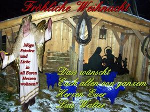 Frhliche Weihnacht allen miteinander.....