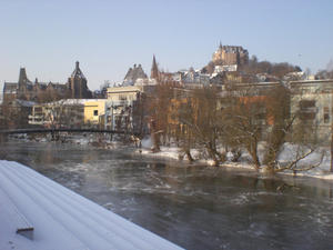 Wintereinbruch in Marburg