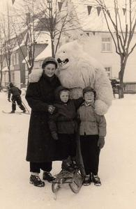 Das waren noch Winter in 1955