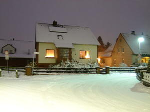 Winternacht in Bordenau
