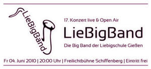 Liebigband Konzert 2010, Schiffenberg, Fr. 4. Juni