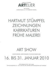 Kunst: Vernissage im ARTELIER  Jetzt Samstag 16 Uhr in Sarstedt-Heisede, Nordstrae 6. Wer rastet der rostet.