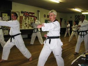 Taekwon-Do Training in Jettingen-Scheppach