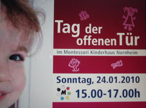 Tag der offenen Tr im Kinderhaus Montessori in Nornheim