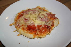 Mini Pizza (mit Video)