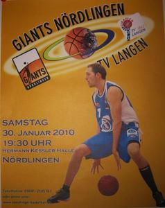 GIANTS NÖRDLINGEN - TV LANGEN (Basketball)