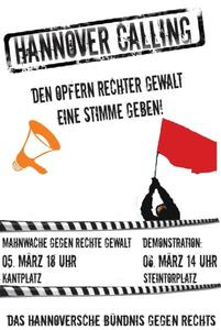 Demonstration 6. März 14:00 Steintorplatz