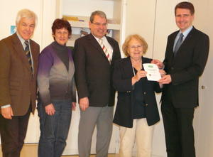 Neues Bildungsprogramm fr Ehrenamtliche Dank Spende vom Lions Club gesichert