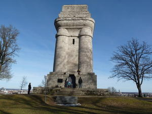 Ausflug zum Bismarckturm