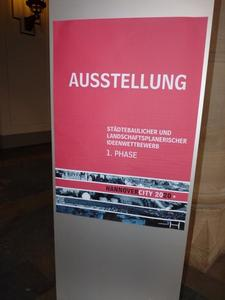 Hannover City 2020, Ausstellung im ' Neuen Rathaus ' Teil 1