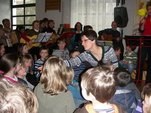 Abschlussgottesdienst der Kinderbibelwoche 2010