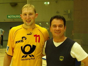 VfL Handball:   Wechsel   in  Handballfhrung  --   S. Walburger  bergibt...