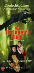 Nachtvorstellung 22 Uhr - Das Dschungelbuch - Sommerfestspiele 2010, Freilichtbhne 'Alte Bastei' Nrdlingen