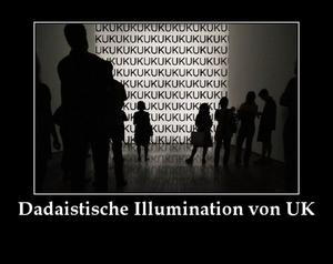 Das Nichts in der Kunst und die dadaistische Illumination von Uwe Kampmann aus Offenbach am Main