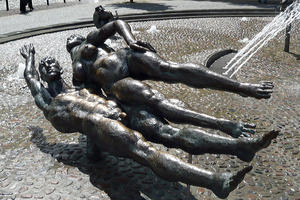 Einst als 'Pornobrunnen' bemkelt