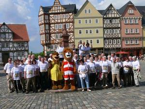 Hessentagswanderung am 5. und 6. Juni 2010 in Stadtallendorf wird zum Treffpunkt von Wanderbegeisterten aus ganz Hessen