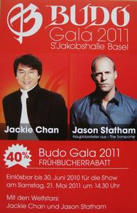 BUDO GALA 2011 abgesagt!!!! (Jackie Chan und Jason Statham)
