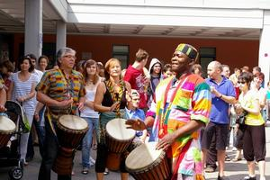 Afrikanisches Sommerfest im Fritz-Felsenstein-Haus