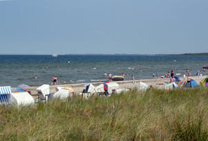 Blick auf die Boltenhagenbucht der Ostsee